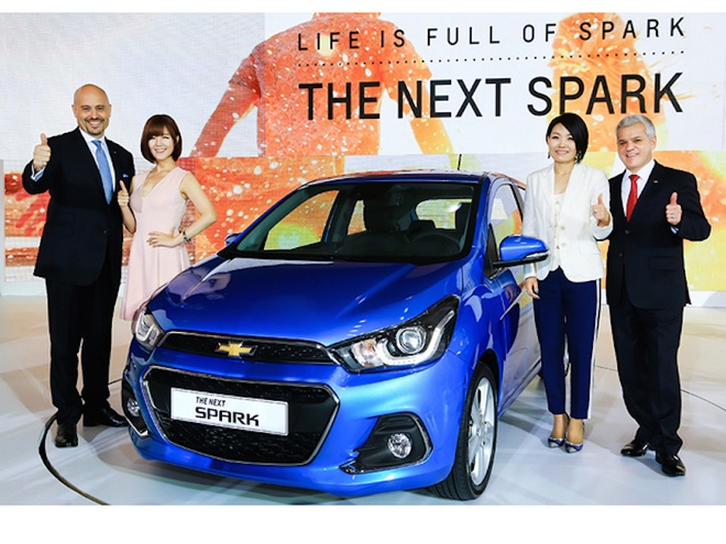 Chevrolet Spark 2016 ra mat tai Han Quoc, gia tu 10.710 USD hinh anh