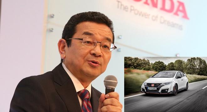 CEO Honda me man Civic Type R hinh anh