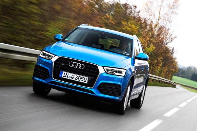 Audi Q3 2016 duoc danh gia tot trong cac thu nghiem va cham hinh anh