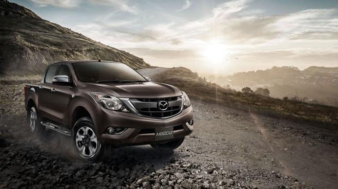 Mazda BT-50 Pro 2016 ra mat tai Thai Lan, gia tu 15.900 USD hinh anh