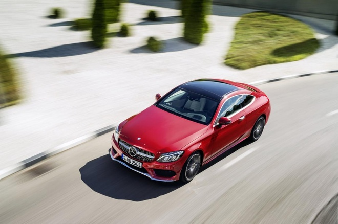 Mercedes-Benz C-Class Coupe 2016 chinh thuc trinh lang hinh anh