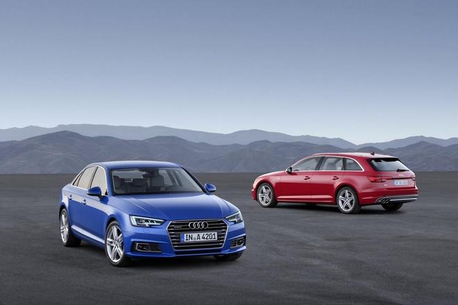 Audi A4 2016 co gia ban hinh anh