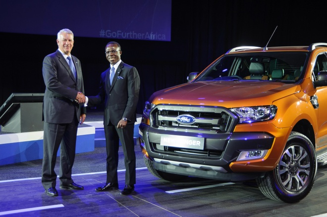 Ford san xuat Ranger moi tai Nigeria hinh anh