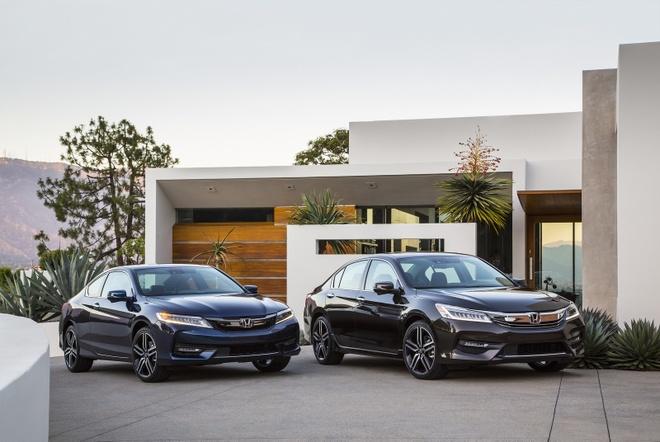 Honda giu nguyen gia ban Accord Sedan va Coupe 2016 hinh anh