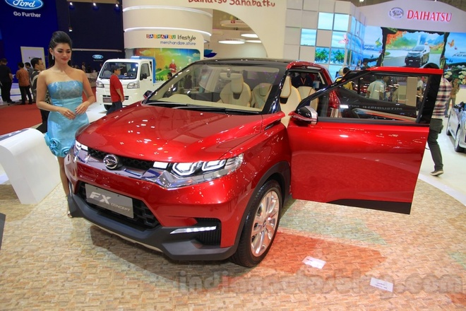 Daihatsu FX Concept - doi thu tiem tang cua Honda HR-V hinh anh