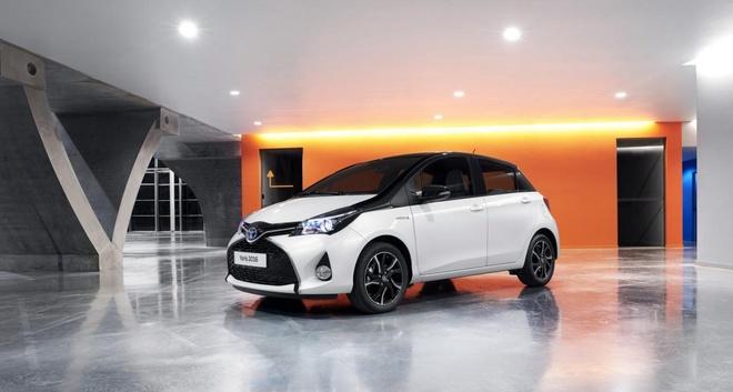 Toyota Yaris 2016 them phien ban Bi-Tone hinh anh