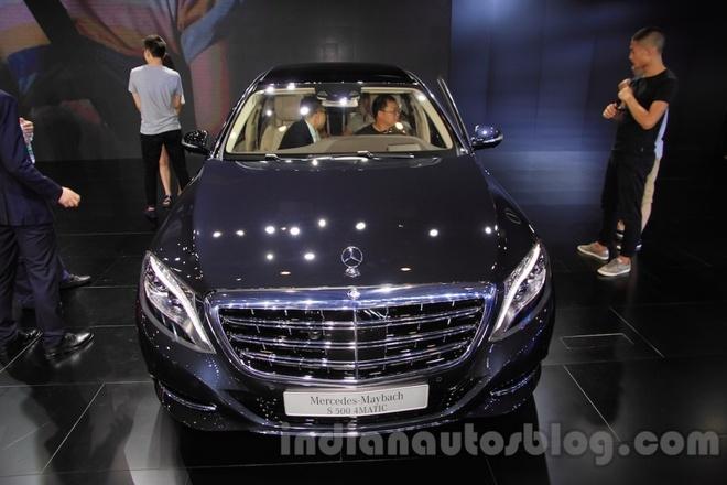 Mercedes Maybach S500 gia gan 350.000 USD tai Trung Quoc hinh anh