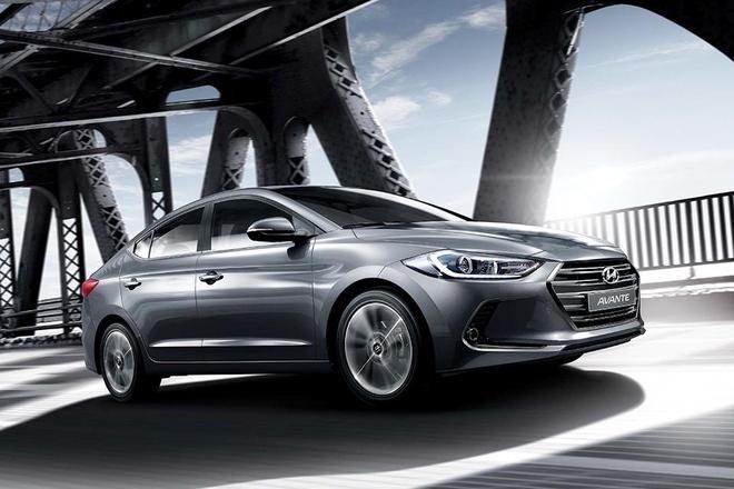 Hyundai Avante 2016 lo dien hinh anh