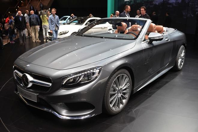 Mercedes trinh lang S-Class mui tran hinh anh