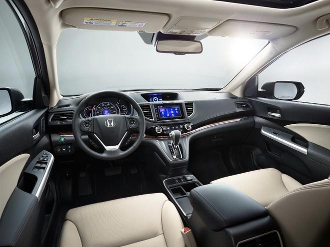 Honda CR-V 2016 them phien ban dac biet hinh anh 2 Không gian nội thất của Honda CR-V SE 2016
