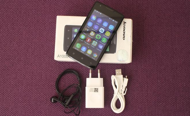 Lenovo A1000 - smartphone tam gia 1,5 trieu cau hinh tot hinh anh 1 Lenovo A1000