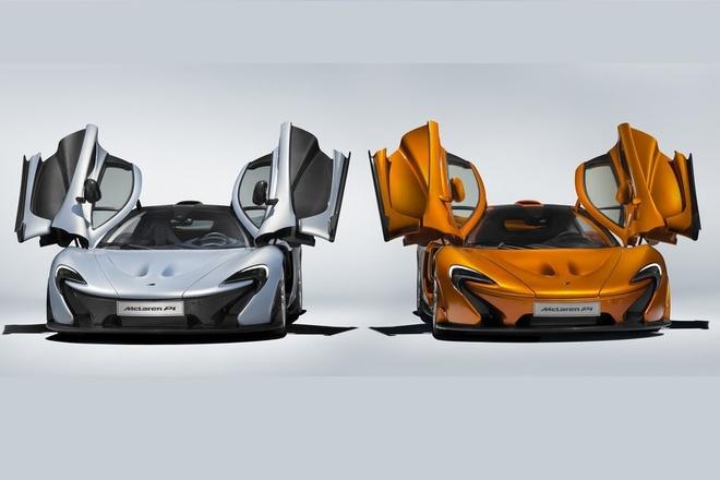 Sieu xe McLaren P1 cuoi cung duoc xuat xuong hinh anh