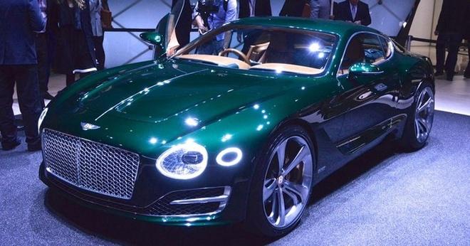 Bentley EXP 10 Speed 6 là mẫu concept xe thể thao 2 chỗ được ra mắt tại triển lãm Geneva. Chính hãng sản xuất Anh Quốc khẳng định đây là tầm nhìn trong tương lai của Bentley khi phong cách thiết kế này chắc chắn sẽ ảnh hưởng mạnh mẽ và rộng rãi tới các dòng sản phẩm sắp tới.
