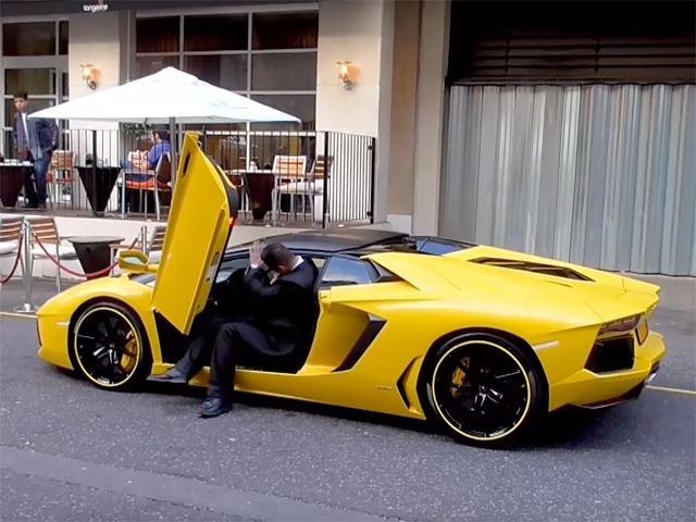 Vat va vao Lamborghini Aventador vi qua cao hinh anh 1