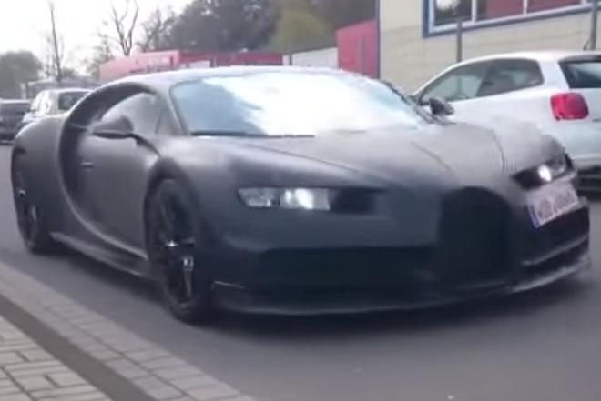 Sieu xe nhanh nhat the gioi Bugatti Chiron lo them thong so hinh anh