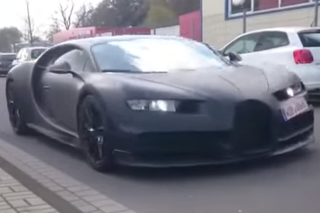 Sieu xe nhanh nhat the gioi Bugatti Chiron lo them thong so hinh anh 1