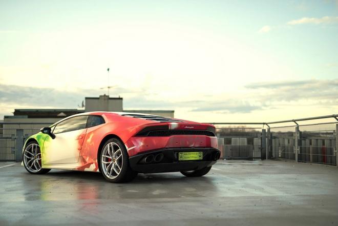 Lamborghini Huracan son 3 mau doc dao hinh anh 2