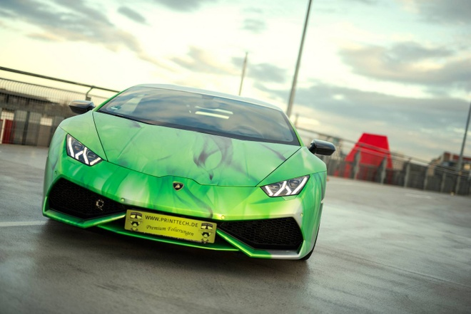 Lamborghini Huracan son 3 mau doc dao hinh anh 3