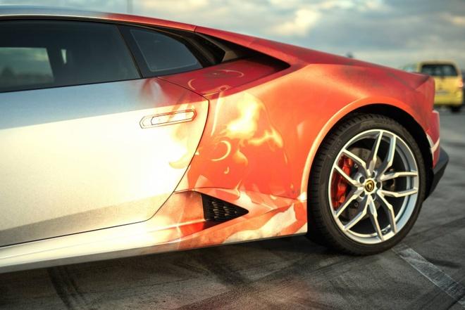 Lamborghini Huracan son 3 mau doc dao hinh anh 4