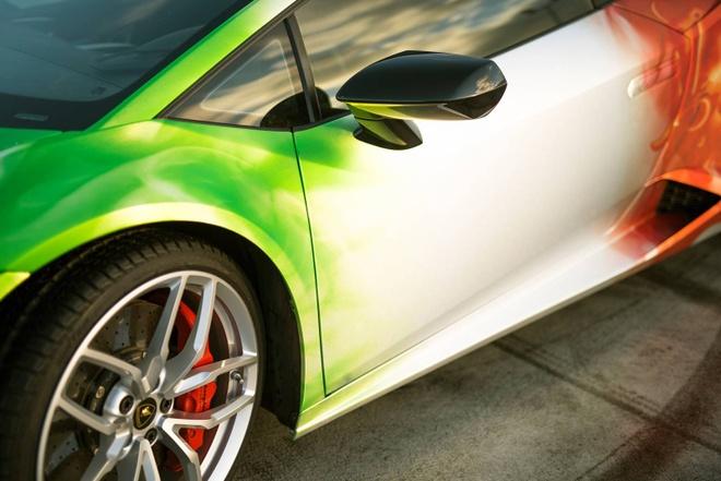 Lamborghini Huracan son 3 mau doc dao hinh anh 5