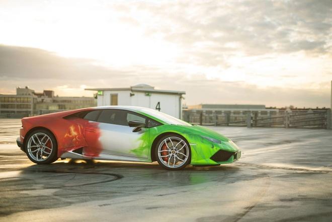 Lamborghini Huracan son 3 mau doc dao hinh anh 7