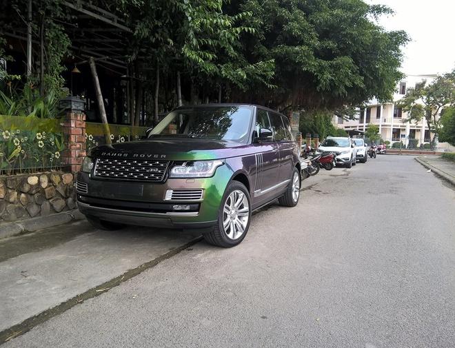 Range Rover xanh tan sac duy nhat o Viet Nam hinh anh 1
