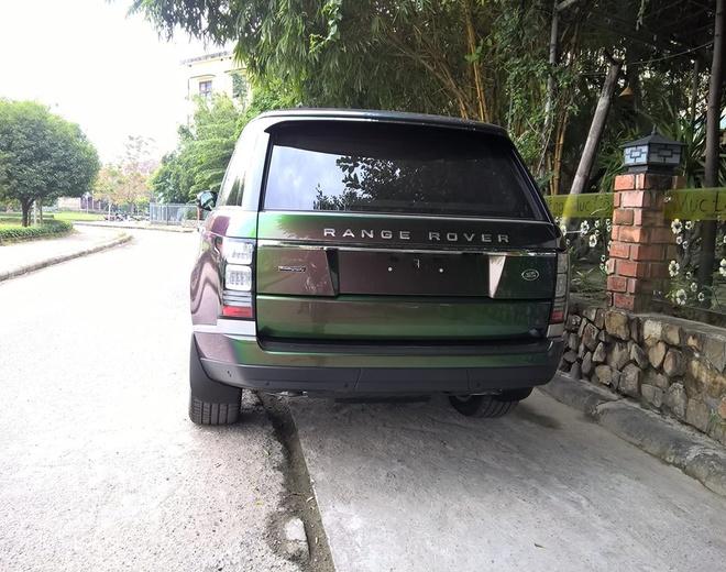 Range Rover xanh tan sac duy nhat o Viet Nam hinh anh 2