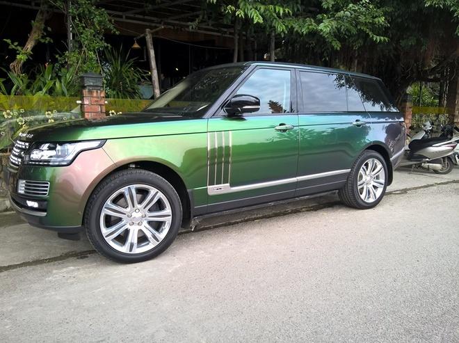 Range Rover xanh tan sac duy nhat o Viet Nam hinh anh 3