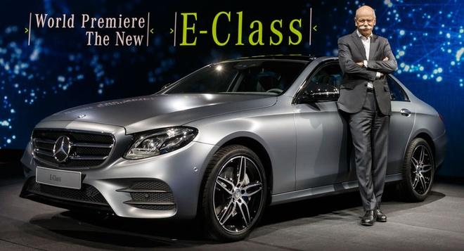 Anh thuc te Mercedes-Benz E-Class 2017 hinh anh