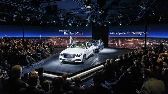 Anh thuc te Mercedes-Benz E-Class 2017 hinh anh 6