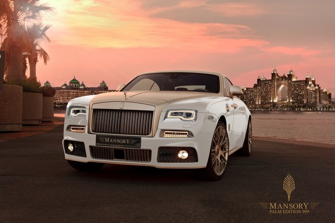 Rolls-Royce Wraith ma vang 24k doc nhat the gioi hinh anh 1