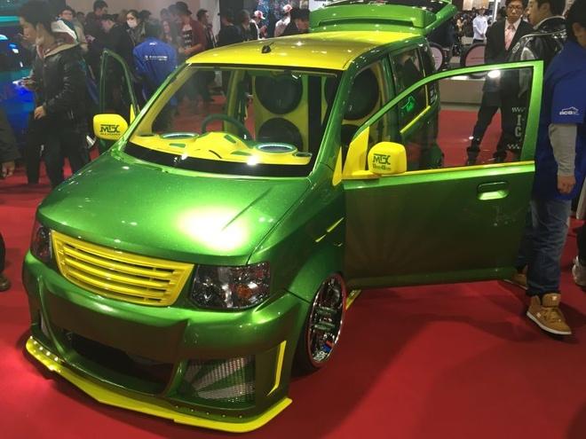 Nhung oto ky quac nhat Tokyo Auto Salon 2016 hinh anh 4