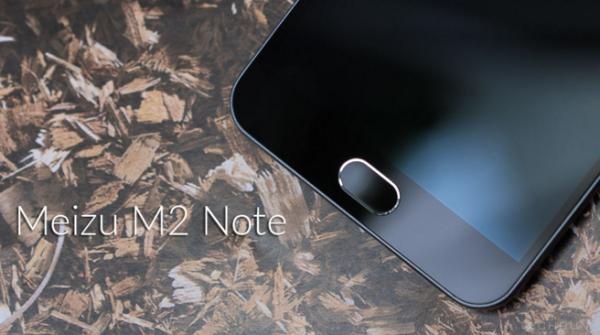 Meizu M2 Note tich hop 3 chuc nang cho nut Home hinh anh 1