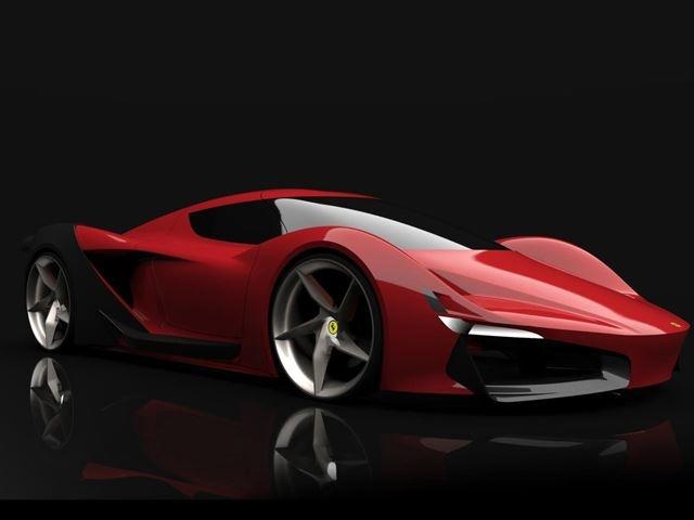 3 thiet ke tuong lai cua sieu xe Ferrari hinh anh 8