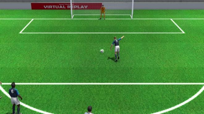 Griezmann danh lua thu mon Argentina ghi ban duoi goc nhin 3D hinh anh