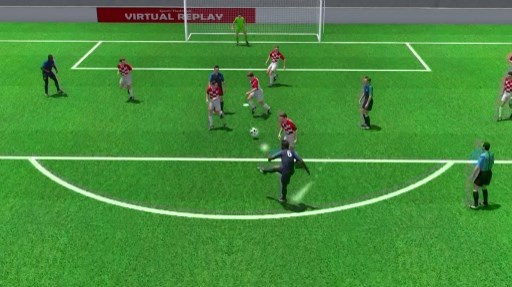 Cu dut diem cua Pogba vao luoi Croatia duoi goc nhin 3D hinh anh