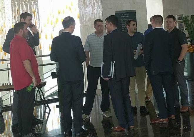Mật vụ Mỹ xuất hiện ở khách sạn Marriott để tiền trạm