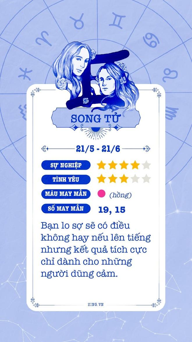 Cung hoang dao 11/5: Kim Nguu cang thang, Song Tu lo so hinh anh 4