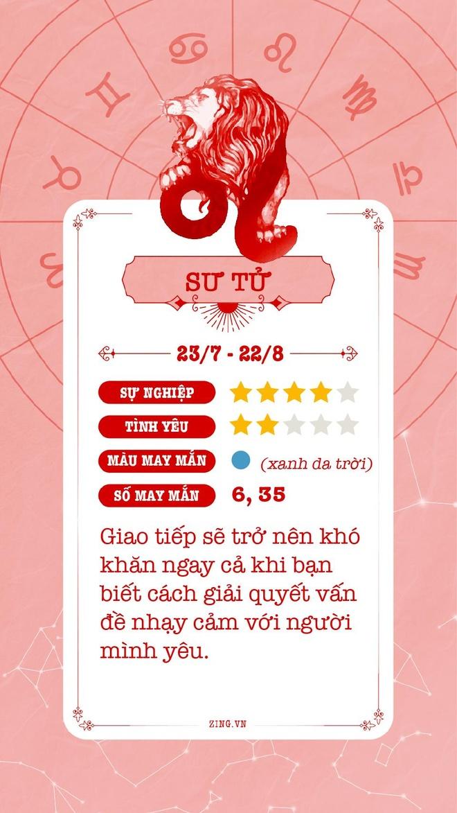 Cung hoang dao 11/5: Kim Nguu cang thang, Song Tu lo so hinh anh 6