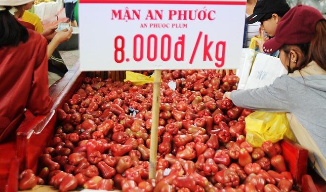 Sau rieng 32.000 dong, vai 29.000 dong mot kg o cho trai cay Sai Gon hinh anh 9