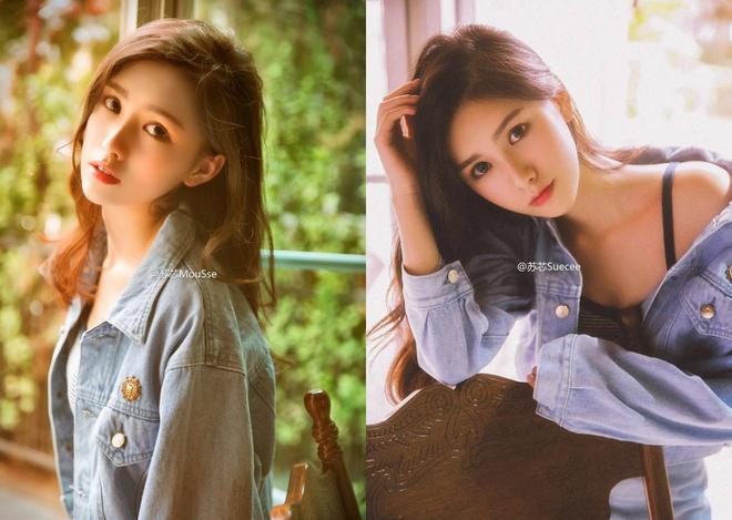 'Hot girl tra sua' 18 tuoi moi noi tai Trung Quoc hinh anh 3