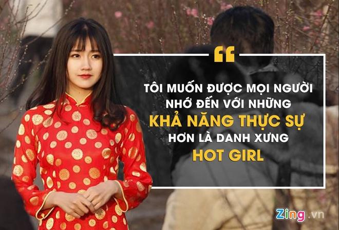 Hot girl Kieu Trinh chuc Tet anh 2