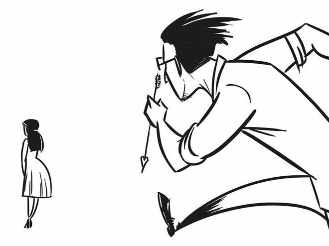 Bo tranh 'Tinh yeu khong don gian' khien dan mang bat cuoi hinh anh
