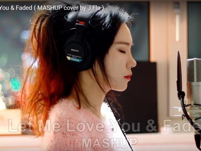 J.Fla mashup 'Faded' va 'Let me love you' hinh anh