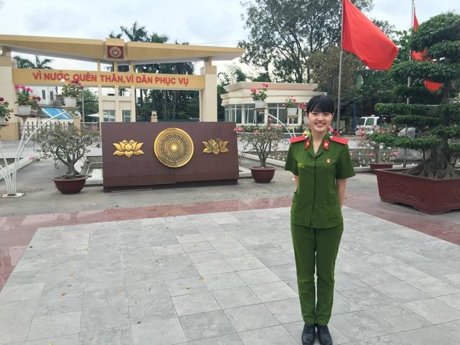 Nu sinh 20 tuoi noi tieng tai Hoc vien Canh sat Nhan dan hinh anh 3