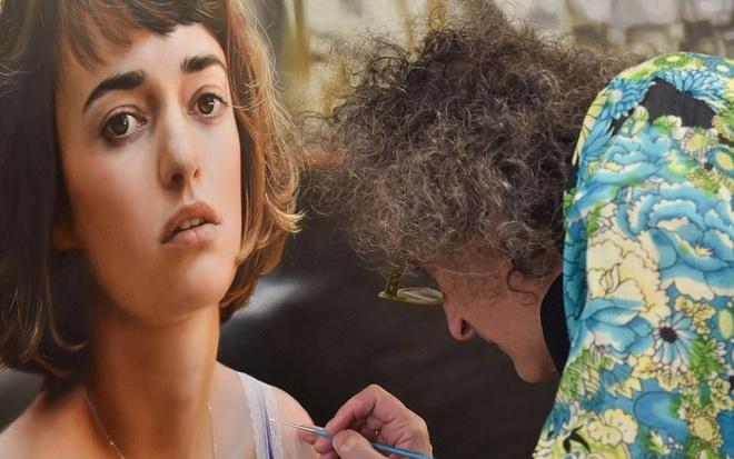 Hoa si Yigal Ozeri ve tranh song dong nhu that hinh anh