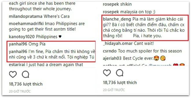 Dan mang Viet lam loan Instagram vi lo Hoa hau Pia 'dim hang' Minh Tu hinh anh 2