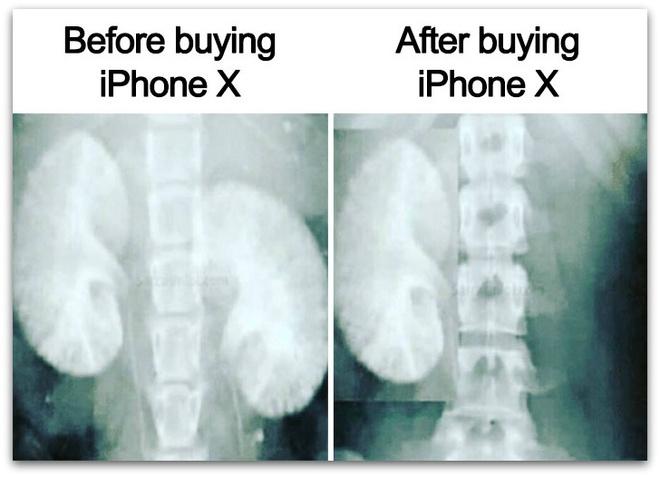 Anh che khi iPhone X ra mat 'lay loi' cua dan mang the gioi hinh anh