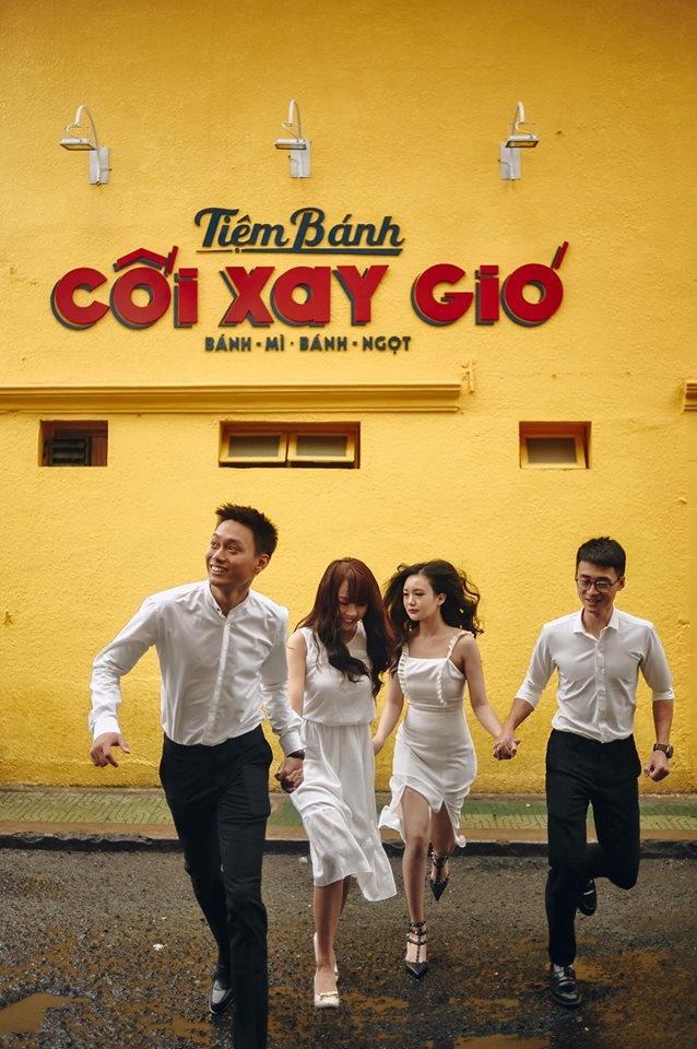 Bo me hai ben hat rap trong dam cuoi Nhat Anh Trang hinh anh 3