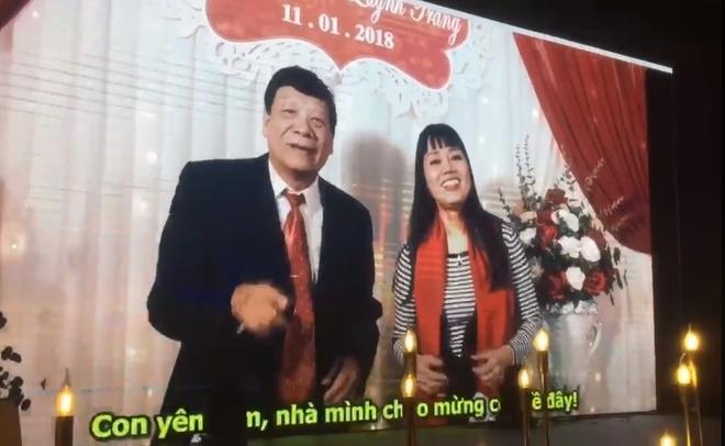 Bo me hai ben hat rap trong dam cuoi Nhat Anh Trang hinh anh 1